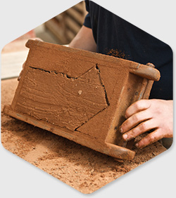 how to tell if a brick is handmade